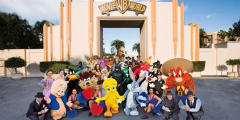Entrance to Movie World