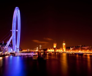 The London Eye night