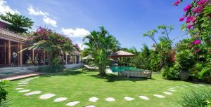 Family Villa in Bali with safe garden for kids
