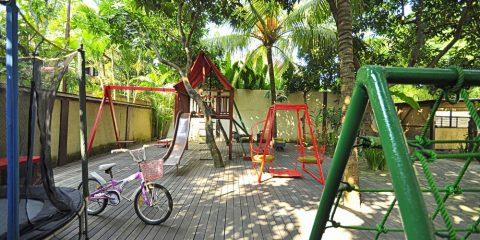 Bali Villa with playground